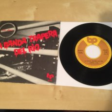 "Disques de vinyle: LA BANDA TRAPERA DEL RIO - LA REGLA / LA CLOACA - SINGLE RADIO 7"" - 1978 ESPAÑA PUNK. Lote 243290380"