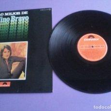 Discos de vinilo: LP. NINO BRAVO, LO MEJOR DE - SELLO POLYDOR 23 85 070. AÑO 1975. SPAIN.LIBRE/TE QUIERO, TE QUIERO... Lote 243291240
