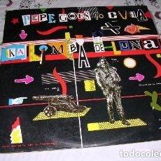 Discos de vinilo: PEPE GOES TO CUBA LP. Lote 243295975