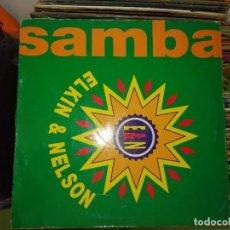 Discos de vinilo: DISCO DE VINILO SAMBA - ELKIN & NELSON. Lote 243299500