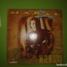 Discos de vinilo: DISCO DE VINILO MARZAL - NO HE DE LLORAR. Lote 243300580