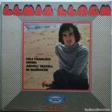 Discos de vinilo: LLUÍS LLACH. CELS TRENCATS/ SOMNI/ AQUELL VAIXELL/ EL BANDOLER. MOVIEPLAY, SPAIN 1970 DOBLE CUBIERTA. Lote 243308480