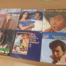 Discos de vinilo: VINILOS CHIRSTOPHE, ALBANO Y ROMINA POWER, DONNA HIGHTOWER, SANDIE SHAW, MARY HOPKIN, LITTLE TONY. Lote 243319725