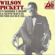 Discos de vinilo: WILSON PICKETT UN HOMBRE Y MEDIO. Lote 243320430