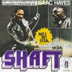 Discos de vinilo: ISAAC HAYES SHAFT. Lote 243321220