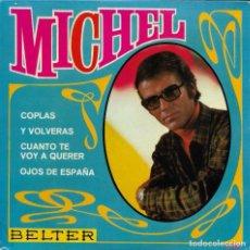 Discos de vinilo: MICHEL OJOS DE ESPAÑA. Lote 243325785