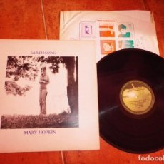 Discos de vinilo: MARY HOPKIN EARTH SONG LP VINILO DEL AÑO 1971 HOLANDA APPLE THE BEATLES CONTIENE 10 TEMAS. Lote 243329665