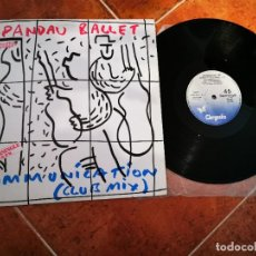 Discos de vinilo: SPANDAU BALLET COMUNICATION CLUB MIX MAXI SINGLE VINILO AÑO 1983 ESPAÑA TONY HADLEY NEW ROMANTICS. Lote 243333685