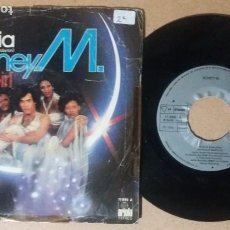Disques de vinyle: BONEY M. / RIOS DE BABILONIA / SINGLE 7 PULGADAS. Lote 243347210