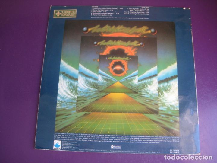 Discos de vinilo: Rhythm Heritage – Last Night On Earth - LP ABC MEDITERRANEO 1977 - SOUL ELECTRONICA 70S - ROCKY BSO - Foto 2 - 243348070
