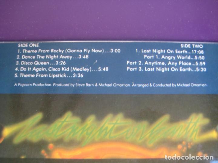 Discos de vinilo: Rhythm Heritage – Last Night On Earth - LP ABC MEDITERRANEO 1977 - SOUL ELECTRONICA 70S - ROCKY BSO - Foto 3 - 243348070