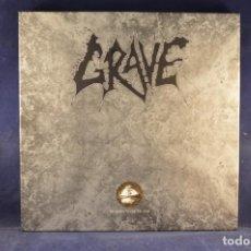 Discos de vinilo: GRAVE - MORBID WAYS TO DIE - EDICIÓN LIMITADA (COPIA Nº #0687) - 6 LP PICTURE DISC. Lote 243372690