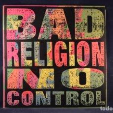 Discos de vinilo: BAD RELIGION - NO CONTROL - LP. Lote 243380845