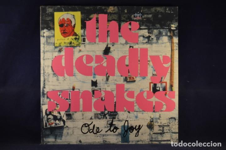 THE DEADLY SNAKES ‎- ODE TO JOY - LP (Música - Discos - LP Vinilo - Rock & Roll)