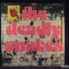 Discos de vinilo: THE DEADLY SNAKES ‎- ODE TO JOY - LP. Lote 243383275