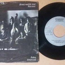 Discos de vinilo: ORQUESTRINA LA MUNDIAL / HONEY-SUCKLE ROSE / SINGLE 7 PULGADAS. Lote 243383720