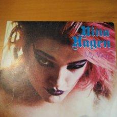 Discos de vinilo: NINA HAGEN. MUY WAY. SINGLE.. Lote 243398190