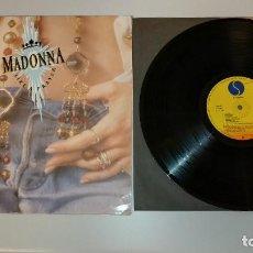 Disques de vinyle: 0221- MADONNA LIKE A PRAYER SPAIN 1989 LP VIN POR G + DIS G +. Lote 243401505