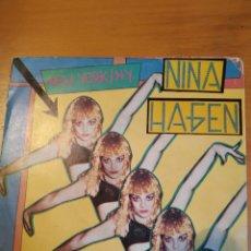 Discos de vinilo: NINA HAGEN. NEW YORK N.Y.. SINGLE.. Lote 243402155