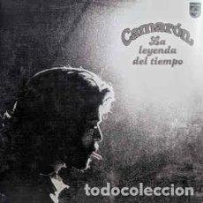 Discos de vinilo: CAMARON DE LA ISLA - LA LEYENDA DEL TIEMPO. VINILO COLOR MAGENTA. NUEVO.. Lote 243404260