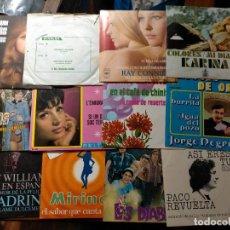 Discos de vinilo: ANTIGUOS VINILOS EP PACK DE DIFERENTES CANTANTES ESPAÑOLES Y ORQUESTRA. Lote 243404405