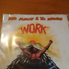 Discos de vinilo: BOB MARLEY WORK Y REDEMTION SONG.. Lote 243408865
