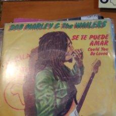 Discos de vinilo: BOB MARLEY. SE TE PUEDE AMAR. SINGLE. Lote 243413380
