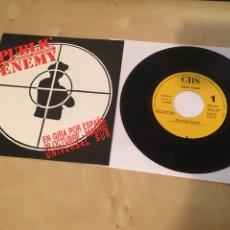 """Discos de vinilo: PUBLIC ENEMY - SINGLE PROMO RADIO 7"""" - 1990 SOLO EDITADO EN ESPAÑA. Lote 243425955"""