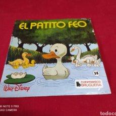 Discos de vinilo: SINGLES CUENTO DISCOS BRUGUERA-EL PATITO FEO. Lote 243436515