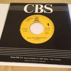 "Discos de vinilo: THE CLASH - SHOULD I STAY OR SHOULD I GO - SINGLE PROMO RADIO 7"" - 1991 ESPAÑA. Lote 243438820"