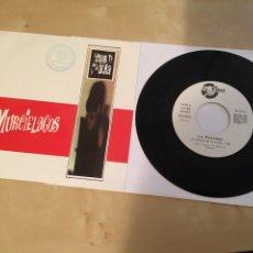 """Discos de vinilo: LOS MURCIELAGOS - EL COLOR DE TU ALMA - SINGLE PROMO RADIO 7"""" - 1990. Lote 243441895"""