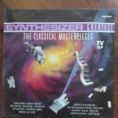 Discos de vinilo: ED STARINK – SYNTHESIZER GREATEST - THE CLASSICAL MASTERPIECES - ARCADE – 02 4850 22 - 2 X VINILO. Lote 243443860