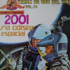 Discos de vinilo: BANDA SONORA DE LA PELÍCULA 2001 UNA ODISEA DEL ESPACIO LP SELLO MGM EDITADO EN ESPAÑA AÑO 1973.... Lote 243459450
