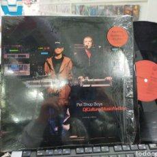 Discos de vinilo: PET SHOP BOYS MAXI LÍMITED EDITION DJ CULTURE/MUSIC FOR BOYS U.S.A. 1991. Lote 243460665