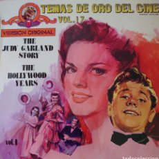Discos de vinilo: JUDY GARLAND LP SELLO MGM EDITADO EN ESPAÑA AÑO 1973 THE HOLLYWOOD YEARS.... Lote 243461105