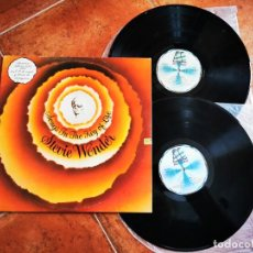 Discos de vinilo: STEVIE WONDER SONGS IN THE KEY OF LIFE 2 LP VINILO 1976 ESPAÑA GATEFOLD MOTOWN. Lote 243462095