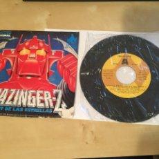 """Discos de vinilo: MAZINGER Z - EL ROBOT DE LAS ESTRELLAS - SINGLE PROMO RADIO 7"""" - 1978 BANDA SONORA. Lote 243462830"""