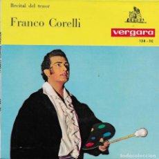 Discos de vinilo: FRANCO CORELLI RIGOLETTO. Lote 243463065
