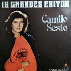 Discos de vinilo: CAMILO SESTO - 16 GRANDES EXITOS - LP DE VINILO EDITADO EN VENEZUELA -#. Lote 243463325