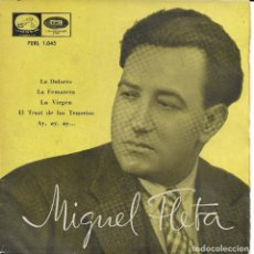 Discos de vinilo: MIGUEL FLETA LA DOLORES (JOTAS). Lote 243466505