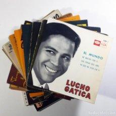 Discos de vinilo: LUCHO GATICA LOTE 14 EPS. Lote 243466520