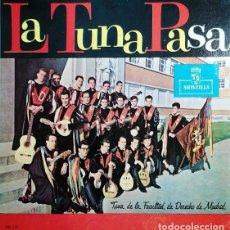 Discos de vinilo: TUNA DE LA FACULTAD DE DERECHO DE MADRID - LA TUNA PASA - LP DE VINILO EDITADO EN VENEZUELA #. Lote 243468065