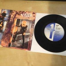"Discos de vinilo: VIXEN - NOT A MINUTE TOO SOON - SINGLE PROMO RADIO 7"" - 1990. Lote 243471460"