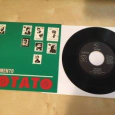 "Discos de vinilo: POTATO - PEGAMENTO - SINGLE PROMO RADIO 7"" - 18. Lote 243483345"