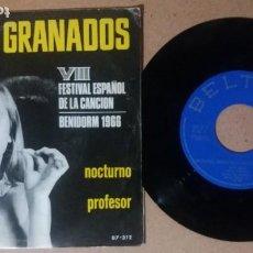Discos de vinilo: ALICIA GRANADOS / NOCTURNO / SINGLE 7 PULGADAS. Lote 243488080