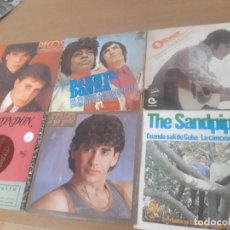 Discos de vinilo: VINILOS PECOS, DANNY AND DONNA, OLIVER, LONDON, ADRIAN AND THE SANDPIPERS. Lote 243489705