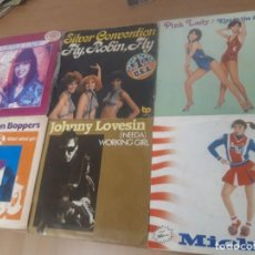 Discos de vinilo: VINILOS LITTLE LADY, SILVER CONVENTION, PINK LADY, THE BOSTON BOPPERS, JOHNNY LOVESIN, TONY BASIL. Lote 243490285