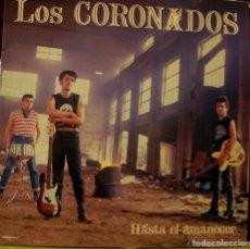 Dischi in vinile: LOS CORONADOS - HASTA EL AMANECER LP + INSERT 1990. Lote 243492720