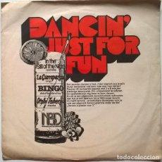 Discos de vinilo: ORKEST WIM JONGBLOED. DANCING JUST FOR FUN. NEDERLANDSE BOND VAN DANSLERAREN, HOLLAND 1973 EP. Lote 243496720