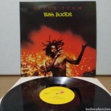 Discos de vinilo: PETER TOSH - BUSH DOCTOR 1978 ED HOLANDESA. Lote 243507460
